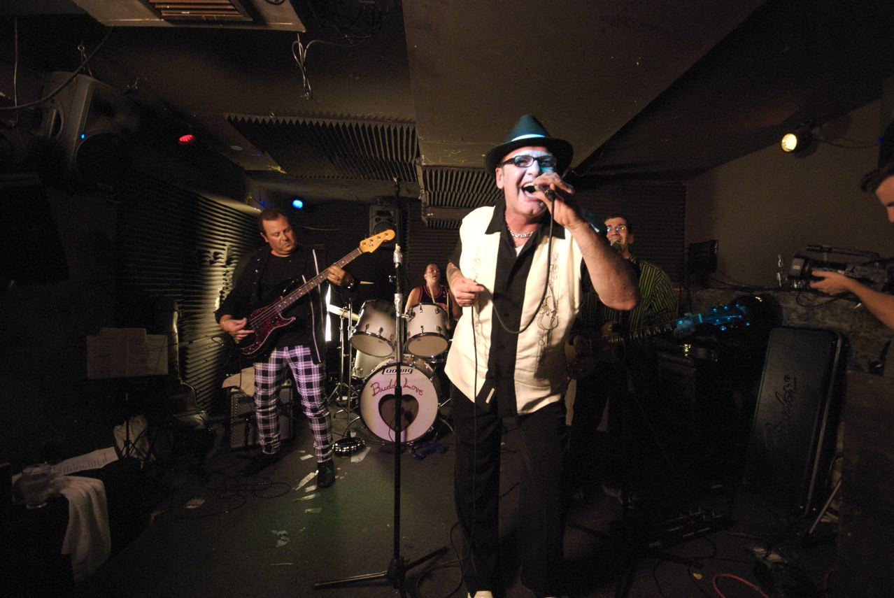 Buddy Love at their First reunion show, Sept 2007